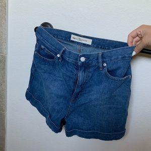 30 Tall GAP High Waisted Shorts
